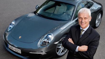Porsche chairman Matthias Müller becomes Volkswagen CEO