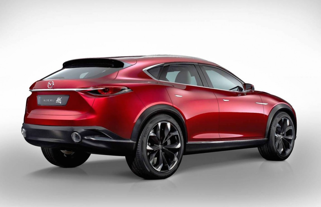 mazda koeru concept shows future cx 5 cx 9 design performancedrive. Black Bedroom Furniture Sets. Home Design Ideas