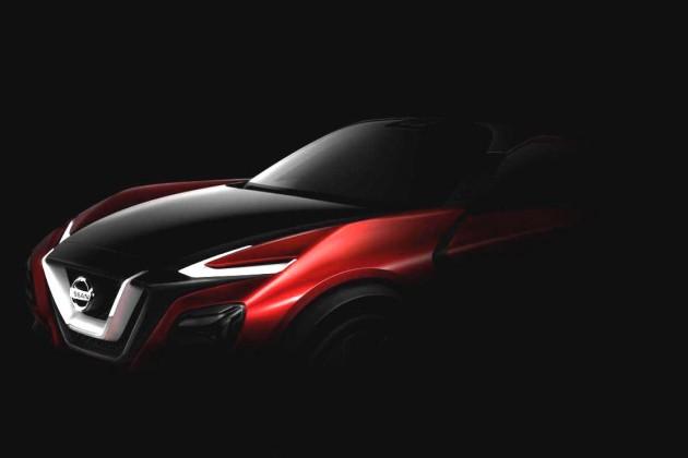 Nissan crossover concept-2015 Frankfurt
