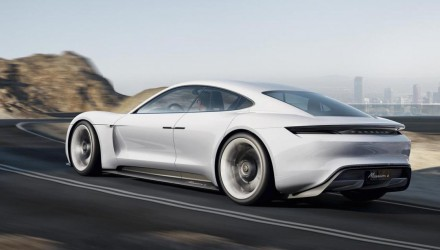 Porsche Mission E concept revealed, previews future Tesla fighter?