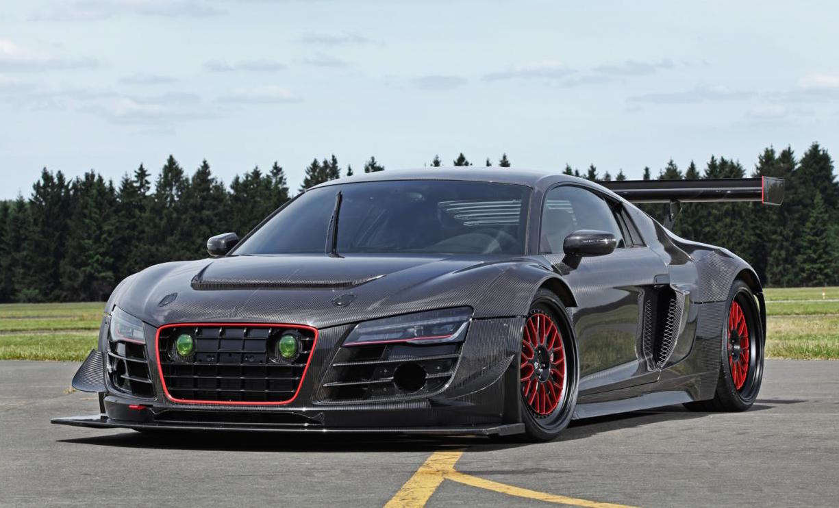 Mental RECON Audi R8 V10 gets RWD conversion amp; supercharger