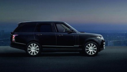 Bulletproof Range Rover Sentinel revealed, built by SVO division (video)