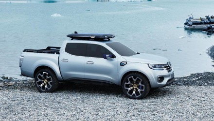 Renault Alaskan concept previews upcoming premium ute