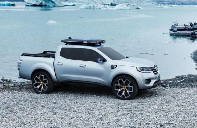Renault Alaskan concept-off road