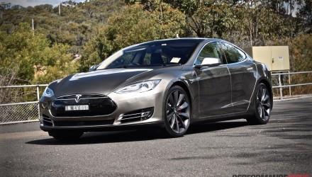 Tesla Model S P85D-front