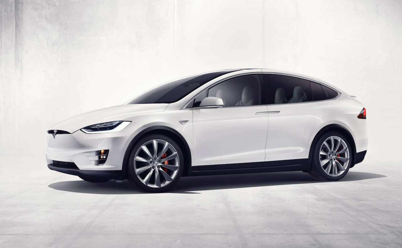 tesla model x fully electric suv revealed 0 60mph in 3 2 seconds performancedrive. Black Bedroom Furniture Sets. Home Design Ideas