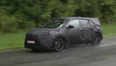 Toyota C-HR prototype spotted, new mini SUV (video)