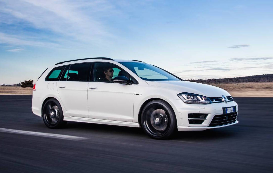The awesome Volkswagen Golf R wagon has touched down in Australia in