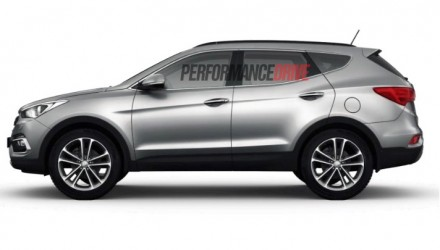 Hyundai Santa Fe Series II facelift gets revised engines, more equipment