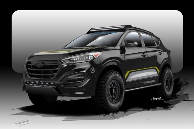 2015 Hyundai Tucson-Rockstar Performance