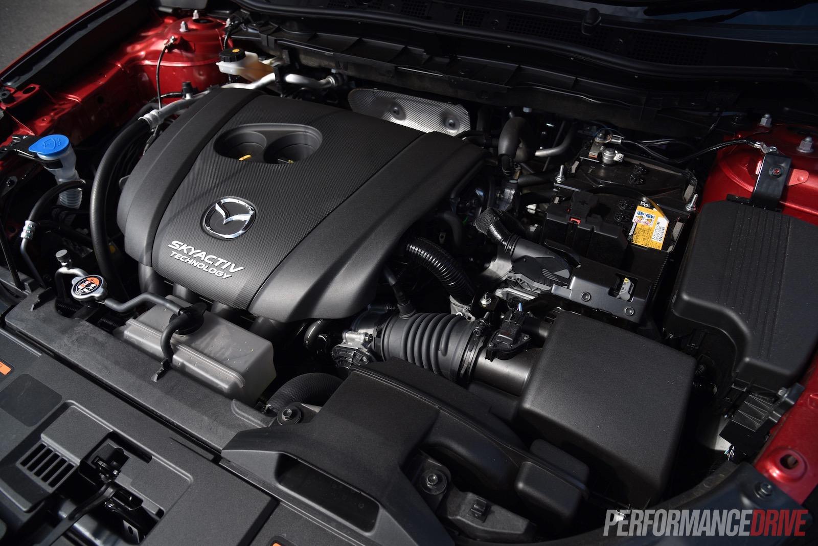 2015 Mazda CX-5 2.5L engine |