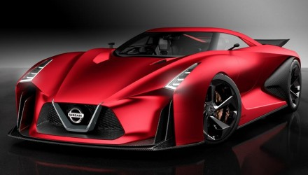 Nissan 2020 Vision Gran Turismo concept updated for 2015