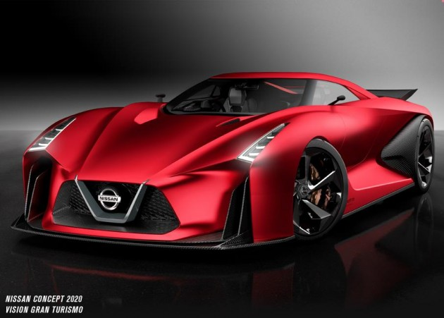 2015 Nissan 2020 Vision Gran Turismo concept
