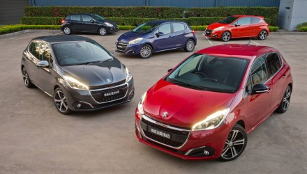 Peugeot 208 updated for 2015, on sale in Australia from $15,990