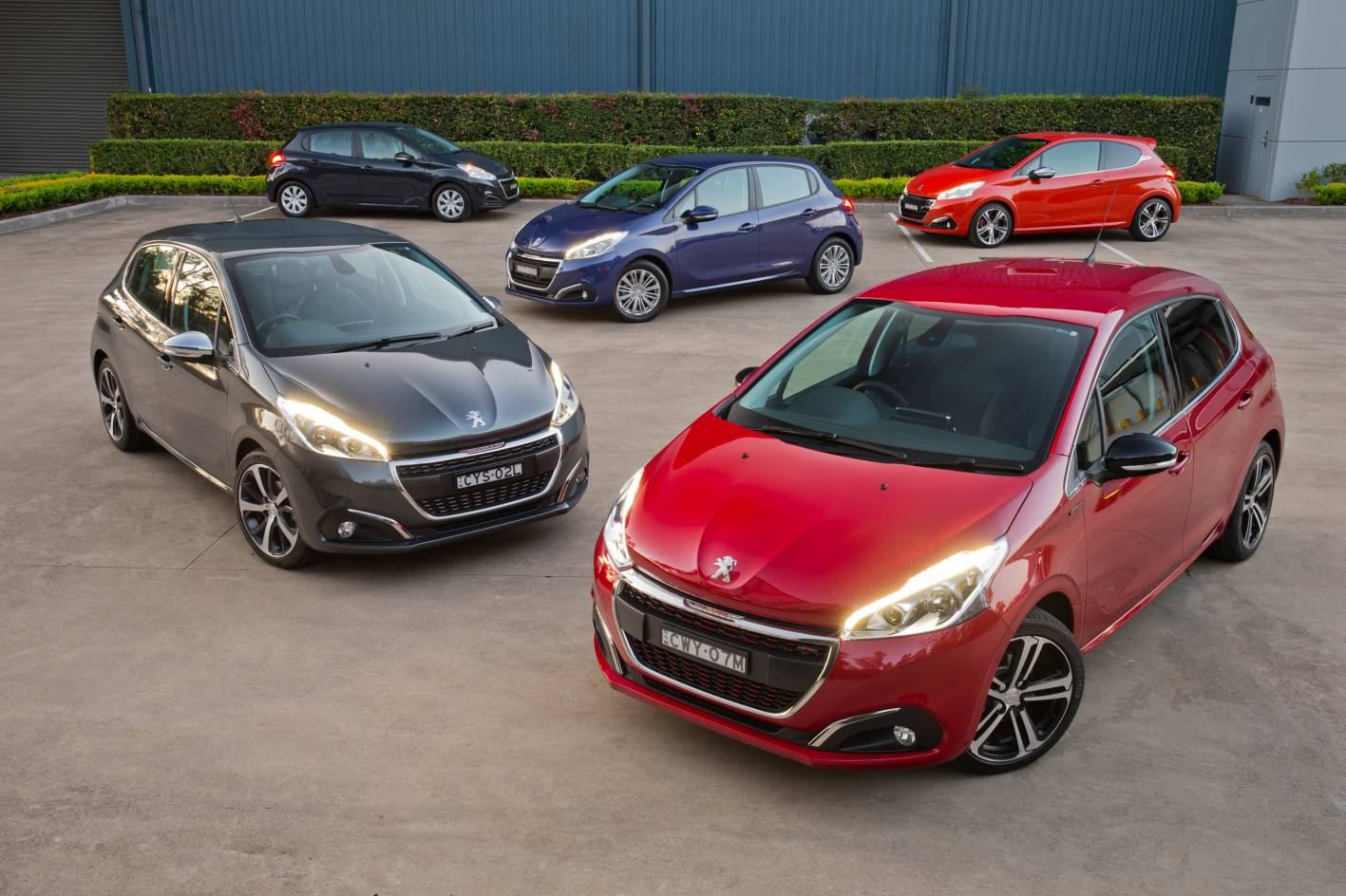 Peugeot 208 updated for 2015, on sale in Australia from $15,990 ...