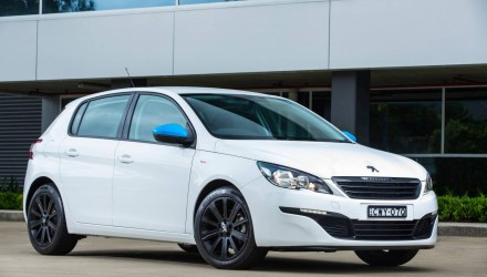 Peugeot 308 Total Package special edition on sale in Australia