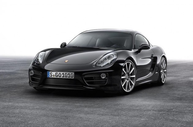 2015 Porsche Cayman Black Edition