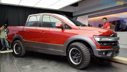 Proton reveals interesting pickup ute concept at Alami Carnival