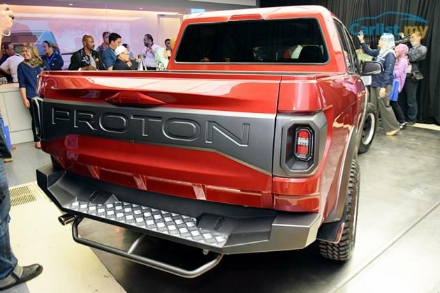 2015 Proton pickup concept-rear