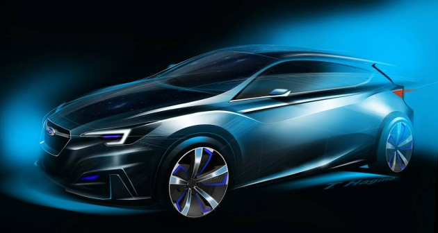2015 Subaru Impreze five-door concept