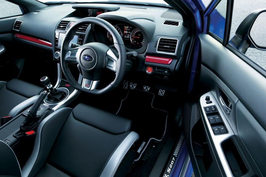 2015 Subaru WRX STI S207 Interior