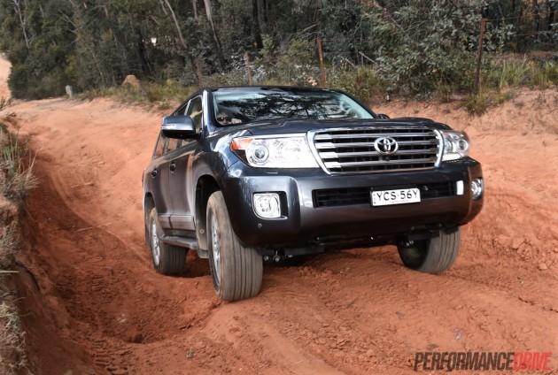 2015 Toyota LandCruiser Sahara-departure angle