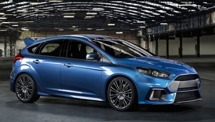 2016 Ford Focus RS on sale in Australia from $50,990