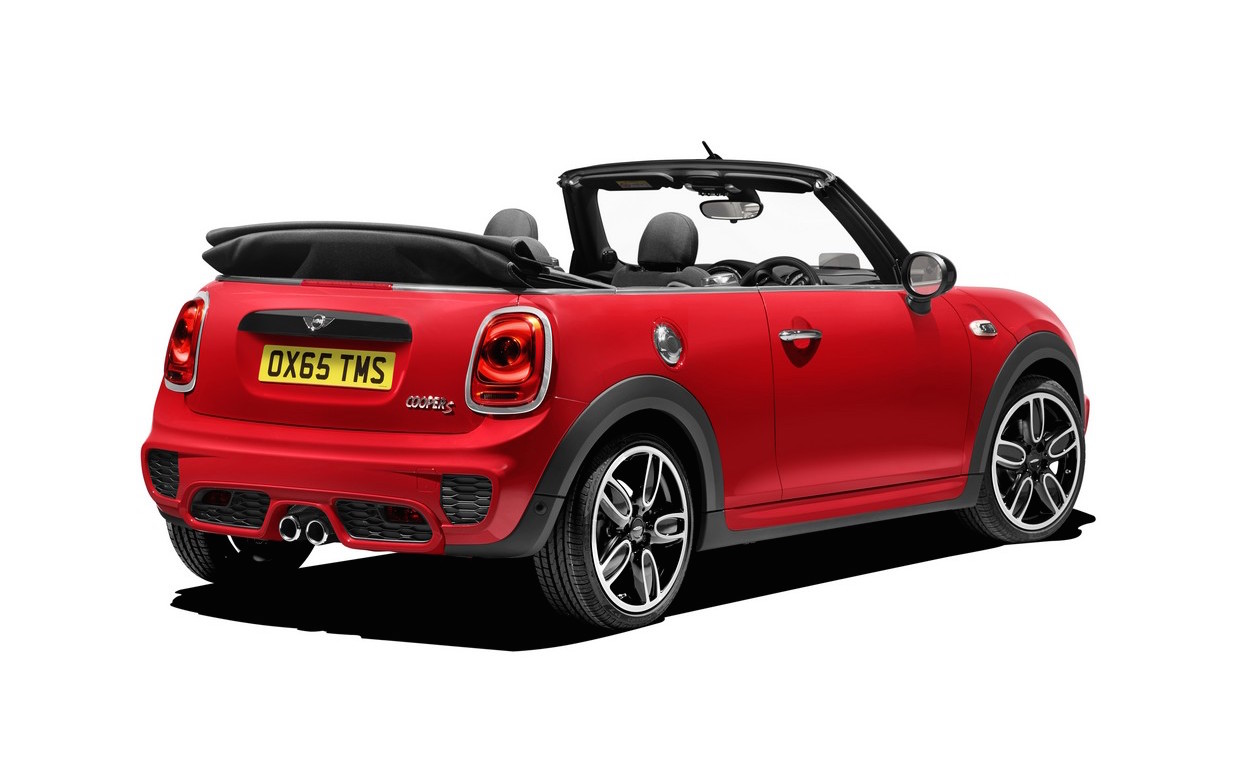 2016 mini cooper convertible unveiled larger with ukl. Black Bedroom Furniture Sets. Home Design Ideas
