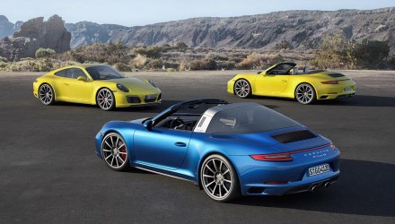 2016 Porsche 911 Carrera 4 on sale in Australia from $233,900