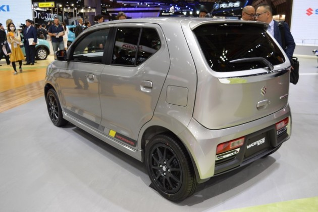 2016 Suzuki Alto Works-rear