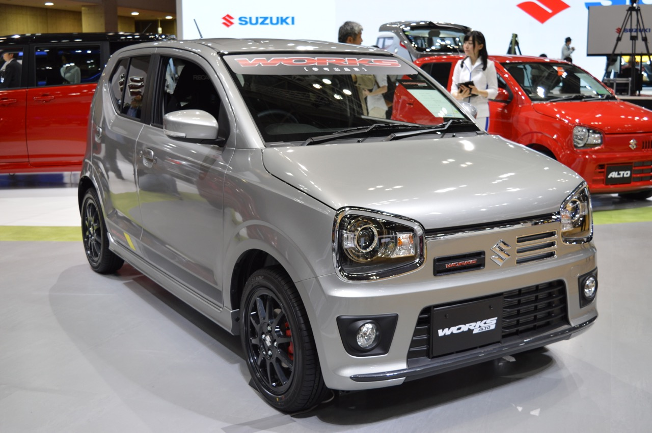 new suzuki alto works micro machine debuts at tokyo show performancedrive. Black Bedroom Furniture Sets. Home Design Ideas