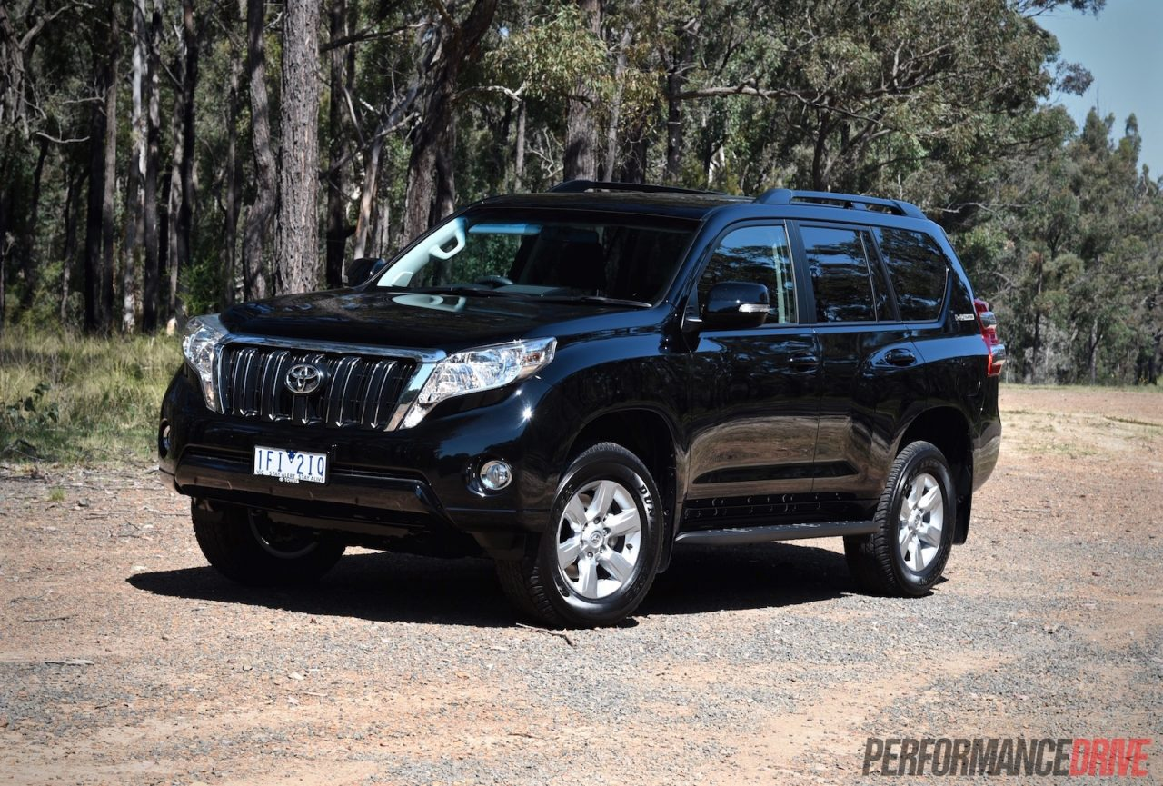 2016 toyota landcruiser prado 2 8 review video. Black Bedroom Furniture Sets. Home Design Ideas