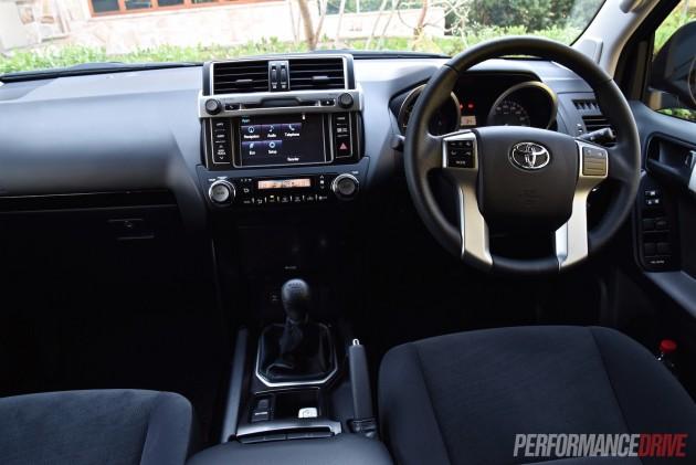 2016 Toyota LandCruiser Prado GXL-dash