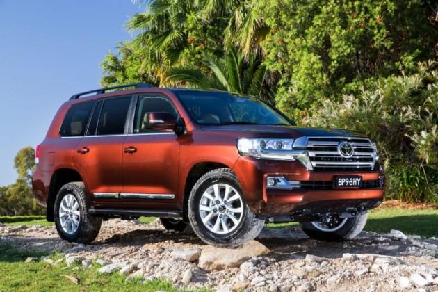 2016 Toyota LandCruiser Sahara