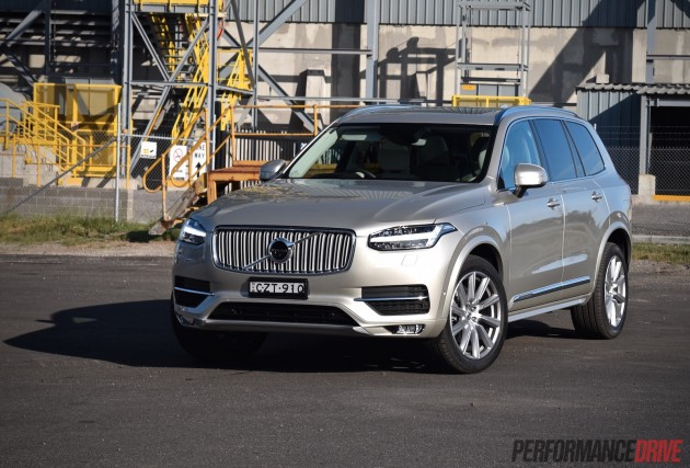 2016 Volvo XC90 T6 Inscription-LED headlights