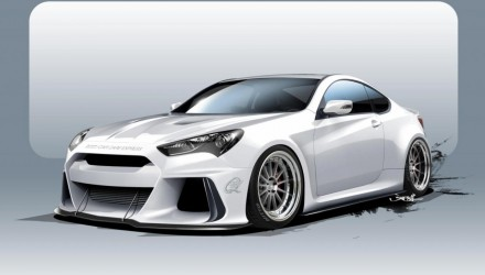 ARK Performance developing 500hp Hyundai Genesis for SEMA