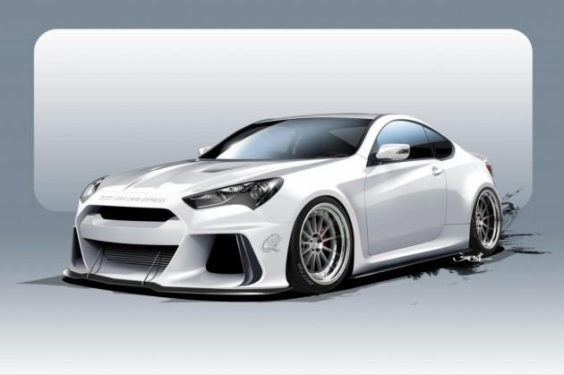 ARK Hyundai Genesis Coupe-2015