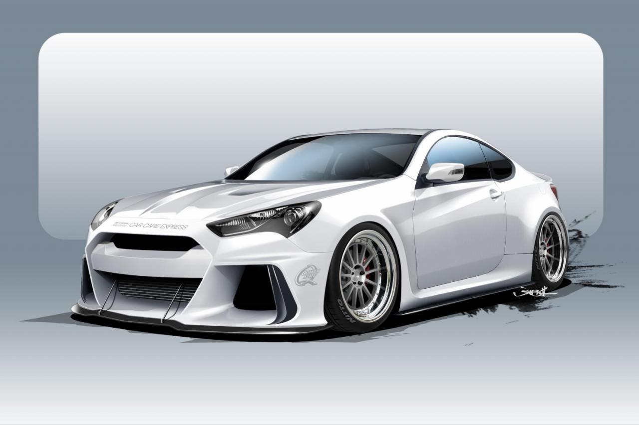 Does Volkswagen Own Bmw >> ARK Performance developing 500hp Hyundai Genesis for SEMA | PerformanceDrive