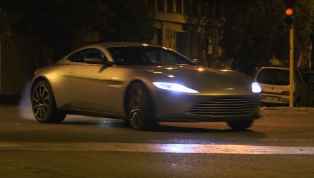 Video: Aston Martin DB10 behind-the-scenes in SPECTRE