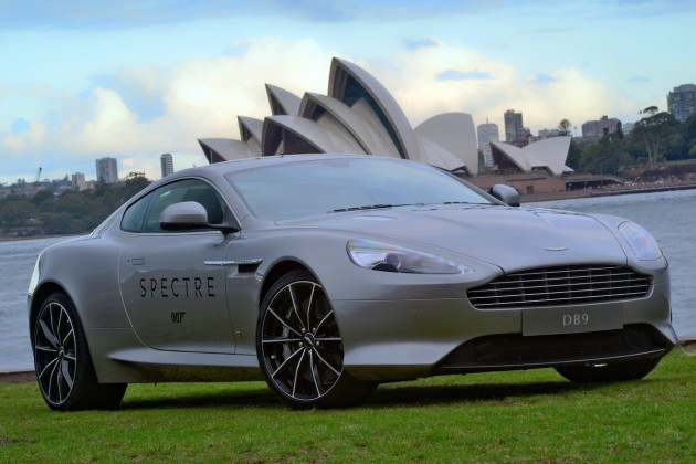 Aston Martin DB9 GT Bond Edition-Australia