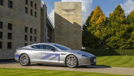 Aston Martin RapidE concept previews future EV