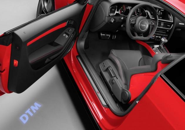 Audi A5 DTM selection-logo light