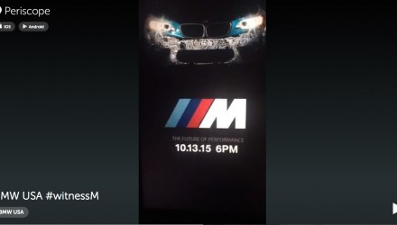 BMW M2 previewed for first time, Oct. 13 debut confirmed