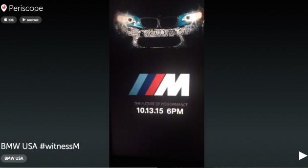 BMW M2 teaser