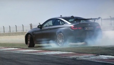 Video: BMW M4 GTS shows off its drifting ability