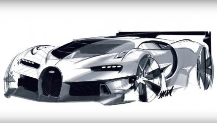 Video: The making of Bugatti Vision Gran Turismo concept