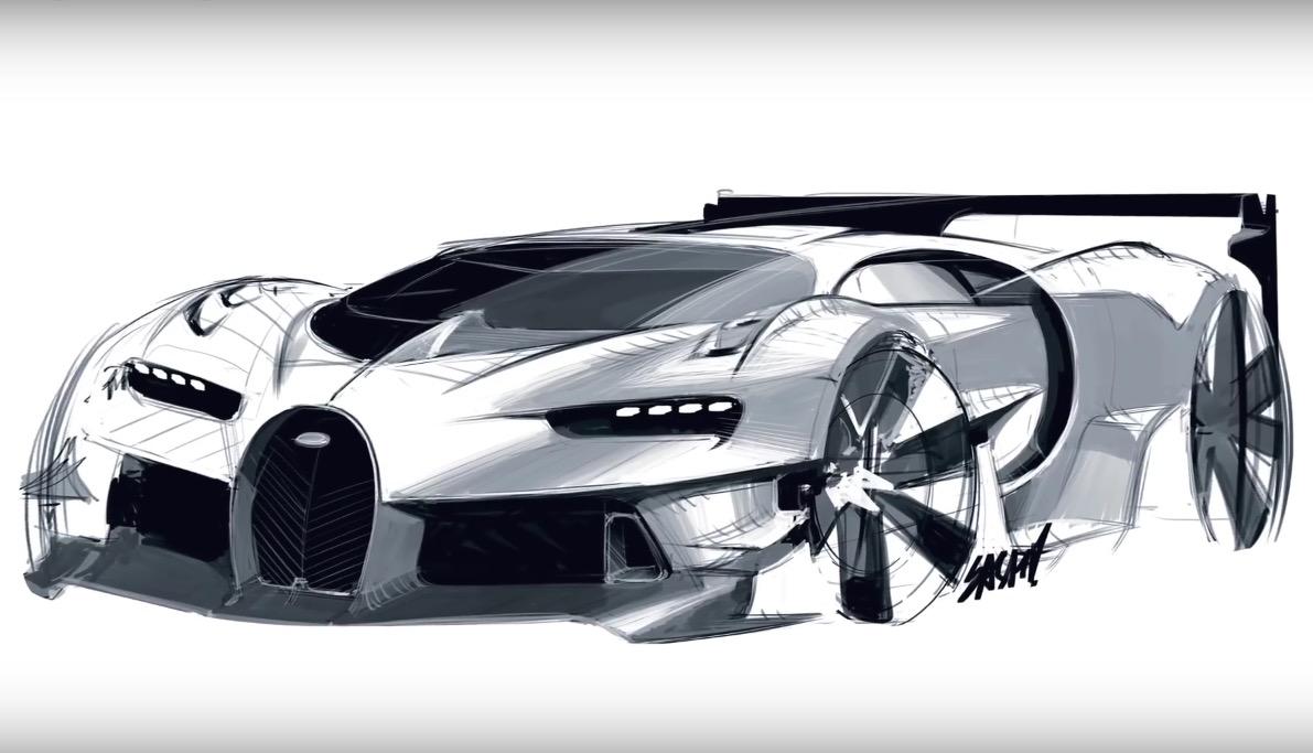 Video: The making of Bugatti Vision Gran Turismo concept ...