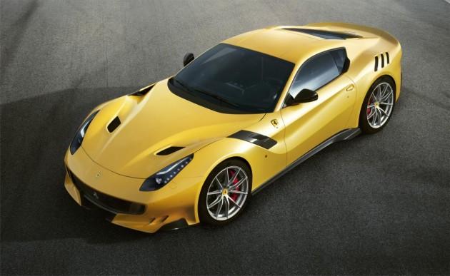 Ferrari F12tdf-yellow