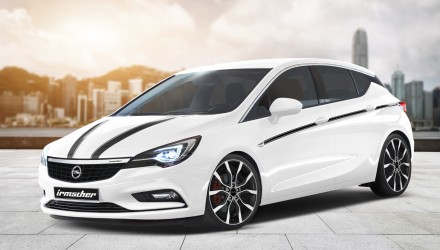 Irmscher plans upgrade package for 2016 Opel Astra
