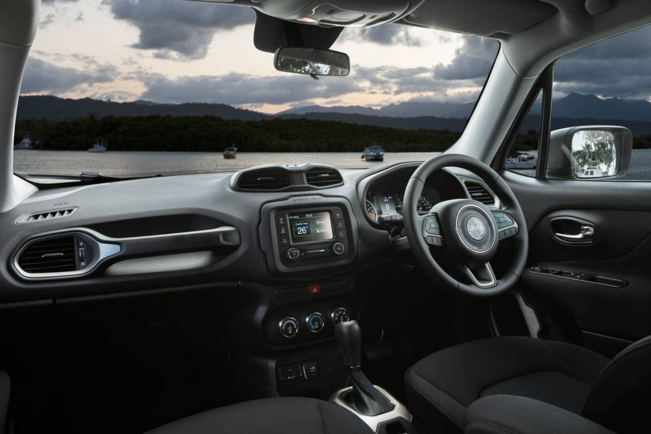 Jeep renegade now on sale in australia from 29 500 - Jeep renegade trailhawk interior ...